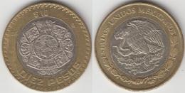 Messico 10 Pesos 2015 - Used - Mexique