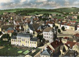 - COURSON Les CARRIERES - Vue Aérienne Sur La Mairie Et Les Ecoles  -11879- - Courson-les-Carrières