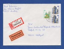 Bund R-Brief Einschreiben MiF Sehenswürdigkeiten - ARNSBERG - Briefe U. Dokumente