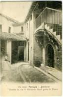 PERUGIA  Dintorni  Cortile In Via S. San Girolamo Fuori Porta S. San Pietro  Foto Alinari - Perugia