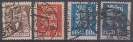 Estonia 1922-28 Selezione 4v (o) - Estonia