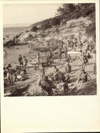 Ile Du Levant,Plage Des Grottes, Nus,  Revue Ile Du Lev.., Association A.D.I.L.(voir Detail) (bon Etat) Dim: 16.5 X 16,5 - Places