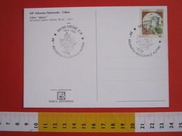 A.03 ITALIA - 1996 UDINE 69^ ADUNATA NAZIONALE ALPINI ANA ALPINO STEMMA ARALDICO TORRE CARD 2 CAMPANILE - Militaria