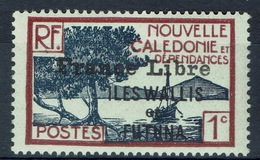 Wallis And Futuna, Definitives, New Caledonia Overprint, 1927, MH VF  Set Of 3 - Wallis And Futuna