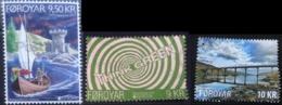 Used Stamp Of Faroe Islands 2018, 2017, 2016: Europa Europazegel Cept Faroer Combination - Europa-CEPT