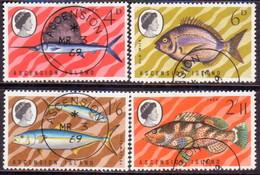 1969 ASCENSION SG #117-20 Compl.set Used Fish (2nd Series) - Ascension (Ile De L')