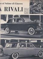 (pagine-pages)LE ITALIANE DEL SALONE DI GINEVRA  Settimogiorno1959/13. - Books, Magazines, Comics