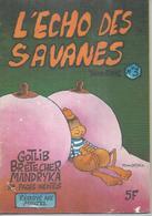 L'ECHO DES SAVANES  N° 3   Couverture   MANDRYKA - L'Echo Des Savanes
