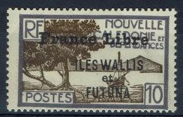"Wallis And Futuna,  New Caledonia Overprint ""France Libre"", 10c., 1941, MNH VF - Wallis And Futuna"