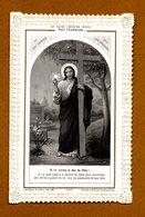 IMAGE RELIGIEUSE PIEUSE . Le Sacré Coeur De Jesus Dans L'Eucharistie - Images Religieuses
