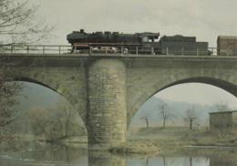 Rekro Lok 58.30 Auf Der Muldebrücke In Döbeln, Ungelaufen - Trains