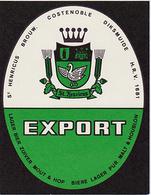 Br. Costenoble (Diksmuide) - Export - Bière