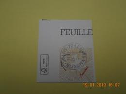 FRANCE 2014   YTN° 4832 ST VALENTIN  Coeur Baccarat   TN Oblitéré  AUTOCOLLANT Coin De Feuille - France