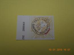 FRANCE 2014   YTN° 4833 ST VALENTIN  Coeur Baccarat   TN Oblitéré  Numéroté - France