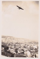 Photo Anonyme Vintage Snapshot Alger Avion Plane Aviation Paysage - Aviation