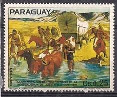 Commémoration De Indépendance (Cowboy/Indien) - Paraguay - 1976 - Paraguay