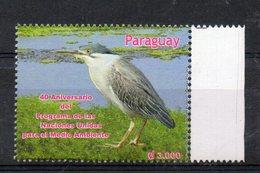 PARAGUAY,2012, BIRD, 1v.   MNH** - Birds