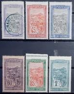 MADAGASCAR - N°134-137-138-140-142-143 - Neuf SANS Charnière ** / MNH Et Oblitéré (o) - Madagascar (1889-1960)