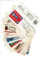 Lot 10 Cartes Publicitaires PUBLIBEL - 1151/1427/1562/1585/1648/1626/1823/1887/2027/2174 - 4 Scans - Publibels