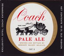 Br. Bavery (Couillet) - Coach Pale Ale - Bière