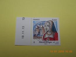 FRANCE 2014   YTN° 4834  ANNE DE BRETAGNE (1477-1514)  TN Oblitéré   Daté - France