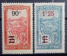 MADAGASCAR - N°150-151 - Neuf SANS Charnière ** / MNH - Madagascar (1889-1960)