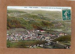 CPA - VAL-d'AJOL (88) - Vue Aérienne Du Bourg En 1910 - France