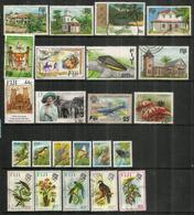 Lot De 23 Beaux Timbres Des Iles FIDJI, Oblitérés, 1 ère Qualité.   Côte 55 Euro - Fiji (1970-...)
