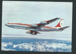Air India - Boeing 707    Carte Grand Format LWK20 - 1946-....: Moderne