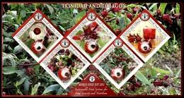 (015) Trinidad + Tobago  2013 / Flora Bf / Bloc Nutrition / Ernährung / Odd / Rare / Scarce  ** / Mnh Michel BL 92 - Trinidad & Tobago (1962-...)