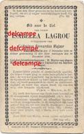 DOODSPRENTJE Isabella Lagrou Ramskapelle 1814 En Overleden Aldaar 1894 Majoor Ludo Nieuwpoort - Images Religieuses