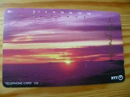 Phonecard Japan 231-174 Sunset - Japan