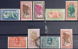 MADAGASCAR - N°161A-162-163-164-165-166-168-169-176A - 8 Neuf SANS Charnière ** / MNH - 1 Oblitéré (o) - Madagascar (1889-1960)