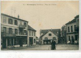 90 - Giromagny : Place De La Mairie - Giromagny
