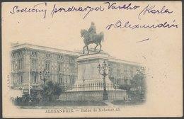 ALEXANDRIE - Statue De Méhemet-Ali - Alexandria