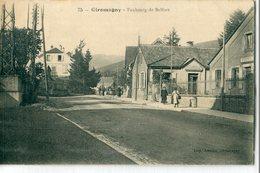 90 - Giromagny : Faubourg De Belfort - Giromagny