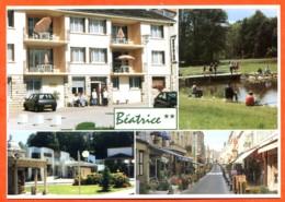 52 BOURBONNE LES BAINS Résidence Béatrice Multivues Pecheurs Studios Carte Vierge TBE - Bourbonne Les Bains