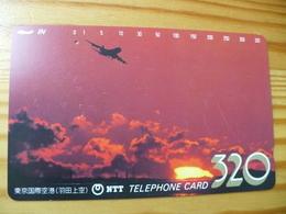 Phonecard Japan 230-125 Sunset - Japan