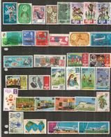 Lot De 34 Beaux Timbres Des Iles FIDJI, Oblitérés, 1 ère Qualité.   Côte 50 Euro - Fidji (1970-...)