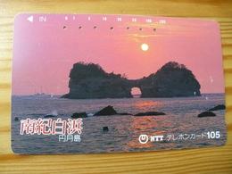 Phonecard Japan 330-207 Sunset - Japan