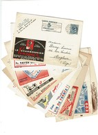 Lot 10 Cartes Publicitaires PUBLIBEL - 1049/1206/1236/1399/1415/1648/1661/1703/1724/1732- 4 Scans - Publibels