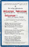 DOODSPRENTJE Germain Dewulf Ramskapelle 1901 En Aldaar Overleden 1906 Baelde - Images Religieuses