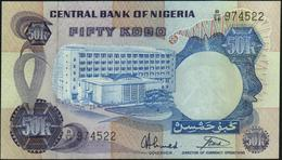 NIGERIA - 50 Kobo Nd.(1973-1978) UNC P.14 G - Nigeria