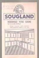 Buvard SOUGLAND Modernisez Votre Cuisine Offert Par Mme Ve ALLORCE à SOLESMES (Nord) - Buvards, Protège-cahiers Illustrés