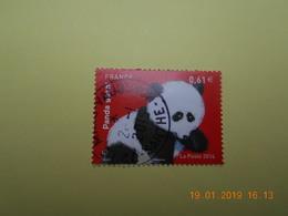 FRANCE 2014   YTN° 4843   SERIE NATURE  Le Panda  TN Oblitéré - France
