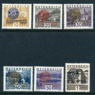 Mi. 518-523 Falz - 1918-1945 1. Republik