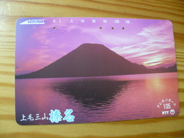 Phonecard Japan 250-335 Sunset - Japan