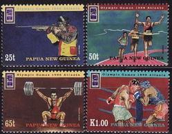 Papua New Guinea, 1996, Atlanta Olympic, 4 Stamps - Ete 1996: Atlanta