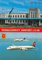 Ronaldsway Aéroport Airport Avion Manx - Isle Of Man