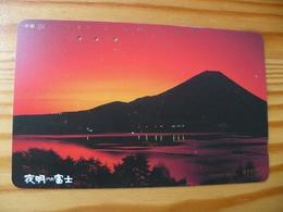 Phonecard Japan 251-204 Sunset - Japan
